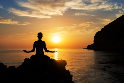 meditating photo